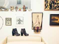 Boots, Old Gringo; Bag, Alexander Wang