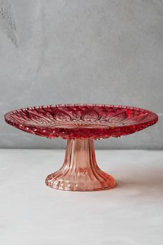 Anthropologie Color-Cut Cake Stand