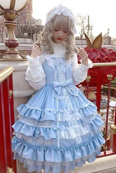Little Dipper -Pure Angel- Sweet Classic Lolita Jumper Dress