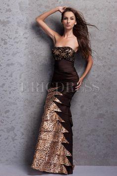 Sexy Floor Length Sweetheart Brush Train Miriama's Sequins Prom/Evening Dresses