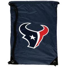 Houston Texans - Logo Nylon Backsack by NFL. $10.47. Officially Licensed Houston Texans Merchandise. The Houston Texans bring you this backsack featuring the Houston Texans logo. Great for fans of the Houston Texans to carry their stuff!. Save 30%!