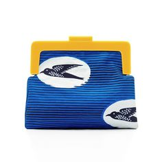 Birds Clutch Bag | Scenery Label | Wolf & Badger