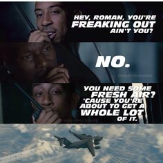 Fast and the furious 7 Furious 7 Quotes, Fast And Furious Memes, Movie Fast And Furious, Furious Movie, The Furious, F Movies, Good Movies, Movies And Tv Shows, Movie Tv