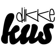 Stamp/Stempel Dikke kus - € 9,95