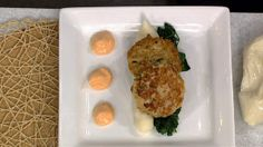 Tiphani White's Easy Salmon Cakes....Easy Salmon Cakes Recipe: Form a larger patty to serve as a main dish with rice or greens, or form smaller patties for appetizer portions......the chew