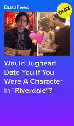 """Would Jughead Date You If You Were A Character In """"Riverdale""""? Tv Show Quizzes, Quizzes For Fun, Girl Quizzes, Boyfriend Quiz, First Boyfriend, Buzzfeed Personality Quiz, Personality Quizzes, Tom Holland Girlfriend, Buzzfeed Test"""