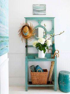 Advice on coastal decor, create your own beach house. Beach Cottage Style, Coastal Style, Beach House Decor, Coastal Decor, Home Decor, Seaside Style, Cottage Chic, Coastal Curtains, Coastal Rugs