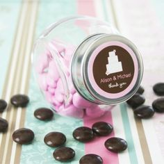 Le mini bocal à bonbons  ou dragées