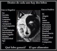 Twitter / mpdelasheras: Los dos lobos que hay en nuestro ...