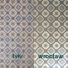 ::: not a perfect match but anyway me and @undina_leo spotted the same pattern of tiles in wrocław and lviv again ;) does it mean that 100 years ago international diy shops like castorama obi leroy merlin were as much popular as they are today ;) | #tileaddiction