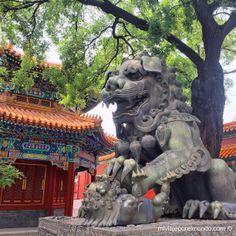 Entrada al Templo de Yonghe