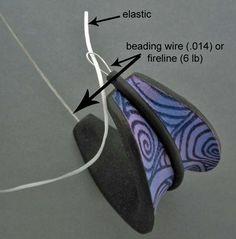 Tendance Bracelets  Как сделать браслет на резинке. Крепкие узлы для бижутерии. Хирургический узел.  Бижутерия своими руками. Сборка бижутерии.   Мастер-классы