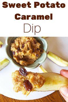 #healthy Sweet Potato Caramel Dip! #vegan #paleo #refinedsugarfree