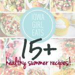15+ Healthy Summer Recipes Caprese lasagna is to die for!!