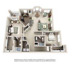 Steadfast Floorplans