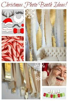 Christmas Photo Booth Ideas http://remodelaholic.com