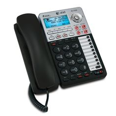 Att Ml17939 2 Line Corded Speakerphone Caller Id Data Port Digital Answering
