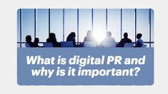 What is digital PR and why is it important? Content Marketing, Digital Marketing, What Is Digital, Seo, Campaign, Social Media, Traditional, Inspiration, Biblical Inspiration