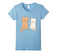 crazy cat baby - Womens I Love Cats Tee Shirt - Funny Cute Cat - Crazy Cat Lady Small Baby Blue -- Read more at the image link. (This is an affiliate link) #CrazyCats