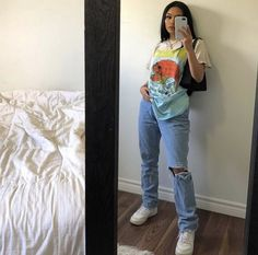 cool back to school outfits ideas for the flawless look 1 Cute Casual Outfits, Edgy Outfits, Swag Outfits, Retro Outfits, Vintage Outfits, Scene Outfits, Hippie Outfits, Moda Streetwear, Streetwear Fashion