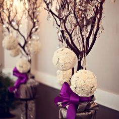 61 best Purple Brown Wedding Inspiration images on Pinterest | Dream ...