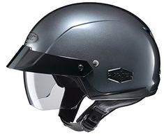 Core Cruiser Shorty Half Helmet Flat Black, Medium