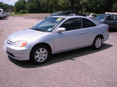 silver 2001 honda civic coupe tint window | Options Installed