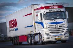 #Actros 2548 LS 6x2-4 Het gunstige verbruik was een doorslaggevende factor om te kiezen voor de trucks van Mercedes-Benz, #Mera Trans.