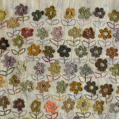 Sophie Digard - Wild Flower Linen Shawl