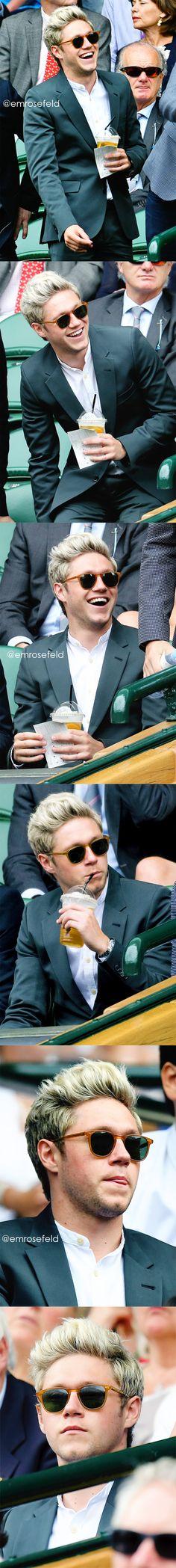 Niall Horan | Wimbledon 7.4.16 | @emrosefeld |