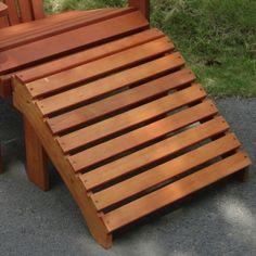 Vifah Eucalyptus Adirondack Footrest. Only $69.00 FREE Shipping. #furniture
