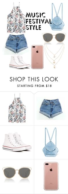 """fest babe"" by jeonayla on Polyvore featuring Levi's, Converse, MANU Atelier, Christian Dior and Belkin"
