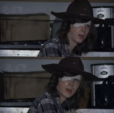 Carl grimes in season 7 ep 7