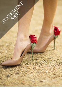 valentino rose-heels