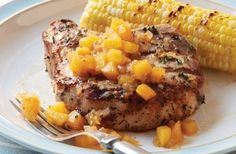 Check out this delicious recipe for Thyme-Rubbed Pork Chops with Peach-Bourbon Chutney from Weber—the world's number one authority in grilling.