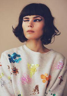 Sequin sweater