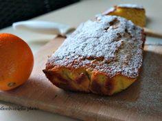 Plumcake semintegrale all'arancia e gocce di cioccolato