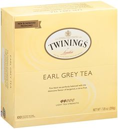 Twinings Tea, Earl Grey, 100 Count *** Visit the image link more details.-It is an affiliate link to Amazon.