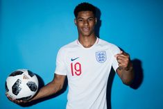 Marcus Rashford of England poses during the official FIFA World Cup 2018 portrait session at on June 13 2018 in Saint Petersburg Russia Fifa World Cup 2018, Jesse Lingard, Marcus Rashford, England Football, Soccer Boys, Poses, Boy Photos, Man United, Ex Boyfriend