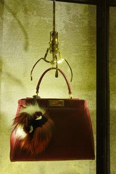 A Peekaboo matched with a Fendi Bag Bugs at the Fendi Soho Pop-Up in ab1b25dceb1bb