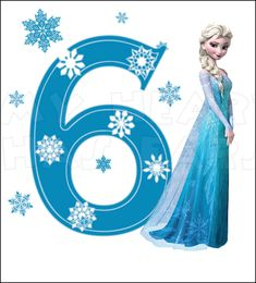 Disney Frozen Elsa Birthday by sweetsisters Happy Birthday Clip Art, Happy Birthday Princess, Frozen Birthday Theme, Birthday Clips, Happy 6th Birthday, Elsa Birthday, Frozen Theme, Disney Birthday, Birthday Ideas