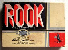At Christmastime, all the uncles would set up a card table in the sunparlor and play Rook.