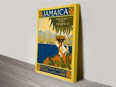 Jamaica-Thomas-Cook-Vintage-Travel  http://www.canvasprintsaustralia.net.au/product/jamaica-thomas-cook-vintage-travel-poster-wall-art/