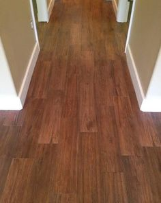 Florida Tile Berkshire Hickory 6 24 Thinset Was Laticrete 253 Gold And Grout 59 Espresso Flooring Pinterest Porcelain Wood