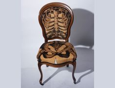 Anatomically Correct Chairs! These Must find a place around my dining room (maybe even kitchen) table!