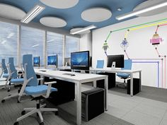 Concept Office Room   PPNT on Behance