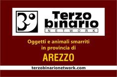 Oggetti e animali smarriti in provincia di Arezzo