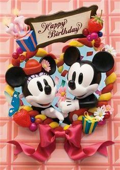 Disney Birthday Party 3D Lenticular Greeting Card