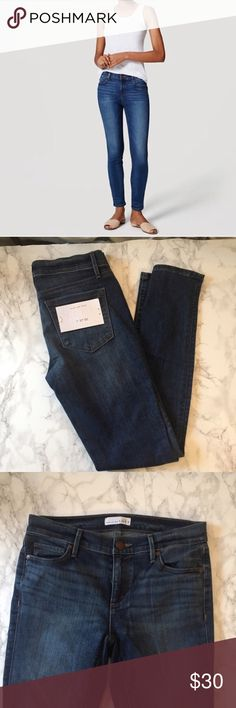 Loft skinny jeans Re-posh. Tags still on. Mid-rise skinny jeans. Perfect condition LOFT Jeans