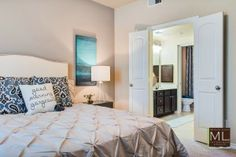 Luxury Apartment | Bedroom Interior Design | Michelle Lynne Interiors Group